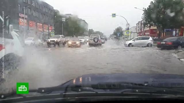 Мощный тайфун «Джеби» вырывает деревья и уносит крыши зданий на Сахалине.погода, Приморье, Сахалин, штормы и ураганы, Япония.НТВ.Ru: новости, видео, программы телеканала НТВ