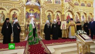 Патриарх Кирилл освятил новый храм в Когалыме