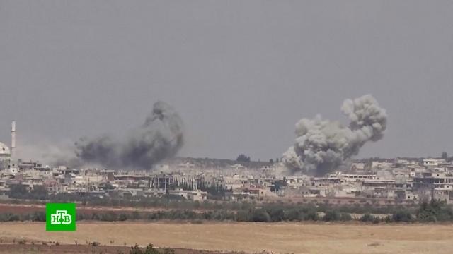 Американские самолеты нанесли удар запрещенными фосфорными бомбами вСирии.США, Сирия, авиация, бомбы, войны и вооруженные конфликты.НТВ.Ru: новости, видео, программы телеканала НТВ
