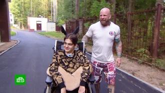 Джефф Монсон навестил юного самбиста, сломавшего шею на соревнованиях