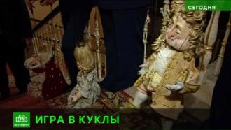 Петербургский театр марионеток устроил импровизированный спектакль в честь 100-летия