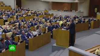 Госдума приступила к рассмотрению резонансных законопроектов