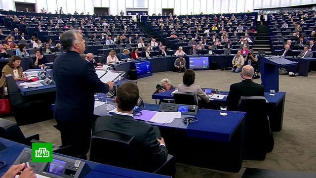 Виктор Орбан решительно встал на защиту Венгрии от наплыва мигрантов.Венгрия, Европа, Европейский союз, беженцы, мигранты.НТВ.Ru: новости, видео, программы телеканала НТВ
