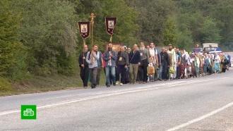 К<nobr>100-летию</nobr> гибели царской семьи вКрыму устроили крестный ход