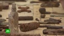 Поисковики нашли останки 200солдат, погибших подо Ржевом вВеликую Отечественную