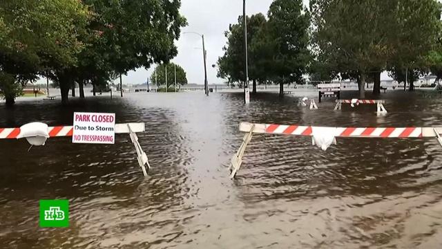ВСеверной Каролине из-за урагана произошли более 100тысяч отключений электроэнергии.Атлантический океан, Илон Маск, стихийные бедствия, США, штормы и ураганы.НТВ.Ru: новости, видео, программы телеканала НТВ