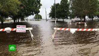 В&nbsp;Северной Каролине <nobr>из-за</nobr> урагана произошли более 100&nbsp;тысяч отключений электроэнергии