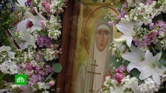Сотни верующих собрались на крестный ход впамять княгини Елизаветы Фёдоровны