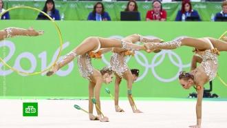 Российские гимнастки взяли золото ЧМ вгрупповом многоборье