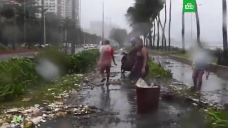 Разрушительный тайфун «Мангхут» вАзии