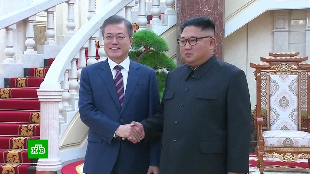 Пхеньян и Сеул объявили о начале новой эпохи взаимоотношений.Ким Чен Ын, Северная Корея, Южная Корея.НТВ.Ru: новости, видео, программы телеканала НТВ