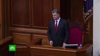 Порошенко обещает после возвращения Крыма убрать оттуда Черноморский флот