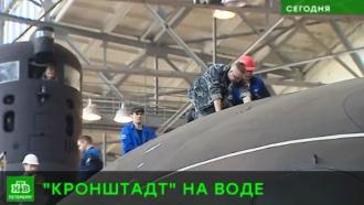 «Кронштадт» отправили на ходовые испытания из Петербурга