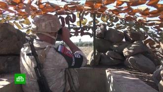 Сирийскую территорию уГоланских высот патрулирует российская военная полиция