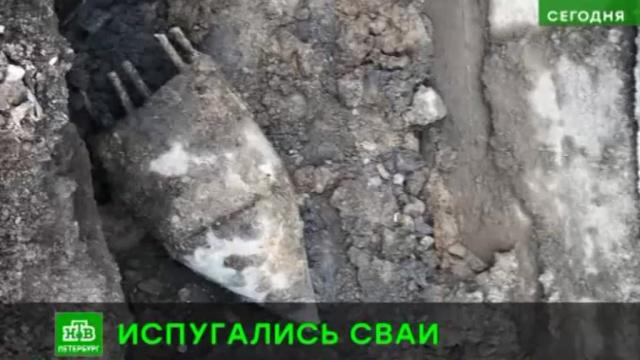 Жителей Металлостроя эвакуировали из-за бетонной сваи.Санкт-Петербург, эвакуация.НТВ.Ru: новости, видео, программы телеканала НТВ