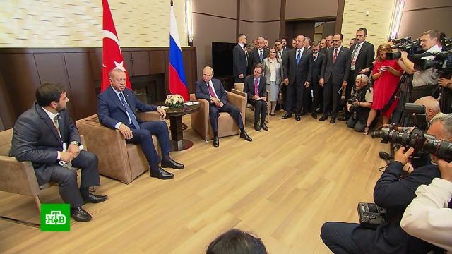 В ООН высоко оценили итоги встречи Путина и Эрдогана.ООН, Путин, Сирия, Эрдоган, войны и вооруженные конфликты.НТВ.Ru: новости, видео, программы телеканала НТВ