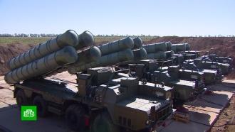 ВКрыму на боевое дежурство заступил ракетный комплекс <nobr>С-400</nobr> «Триумф»