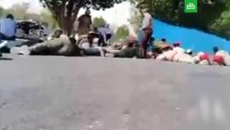 ВИране на военном параде произошел теракт