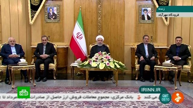 Президент Ирана обвинил США вспонсировании теракта на параде.Иран, США, парады, терроризм.НТВ.Ru: новости, видео, программы телеканала НТВ