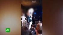 Тюменских первокурсников решили не наказывать за участие в конкурсе на раздевание.Скандал со странным посвящением в студенты разгорелся в Тюменском государственном университете. На видео попало, как первокурсники стоят на сцене ночного клуба абсолютно голые и под аплодисменты устраивают весьма пикантные танцы.вузы, ночные клубы, скандалы, Тюмень.НТВ.Ru: новости, видео, программы телеканала НТВ