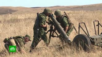 ВДНР иЛНР выбирают лучших артиллеристов иракетчиков