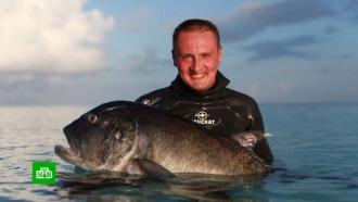 На Кипре утонул известный подводный охотник из России
