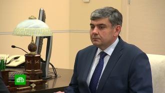 Путин объявил осмене глав <nobr>Кабардино-Балкарии</nobr> иАстраханской области
