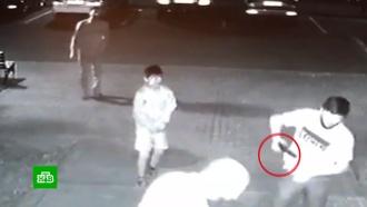 Ссора двоих школьников переросла в драку с оружием их семей
