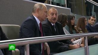 Путин посетил чемпионат мира по дзюдо вБаку