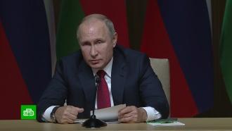 Путин призвал бизнес активнее работать над проектами на Каспии