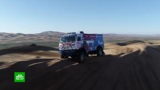 Экипаж <nobr>«КамАЗ-мастер»</nobr> победил на китайском этапе «Шёлкового пути»