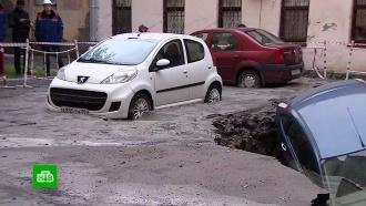 ЧП вПетербурге: названа причина прорыва трубы