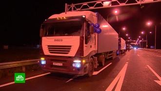 Сотни фур двинулись по открывшемуся для большегрузов Крымскому мосту
