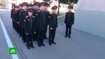 Московское Суворовское училище отмечает день рождения