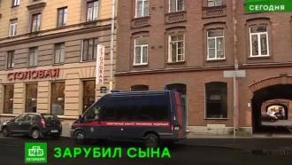 Отец зарубил <nobr>11-летнего</nobr> сына топором в&nbsp;Петербурге