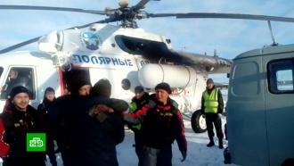 Пилот разбившегося в горах Якутии вертолета четыре дня ел снег и спал по 10 минут