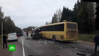 Попавшая вДТП под Тверью маршрутка работала незаконно