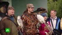 Любители соколиной охоты устроили слет в Липецкой области