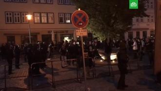 На <nobr>рок-концерте</nobr> в&nbsp;Германии пострадали 8&nbsp;полицейских