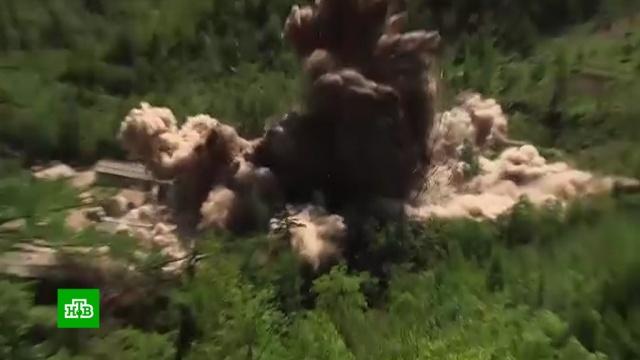 Ким Чен Ын покажет уничтоженный полигон Пунгери иностранным инспекторам.Госдепартамент США, Ким Чен Ын, США, Северная Корея, Трамп Дональд, переговоры.НТВ.Ru: новости, видео, программы телеканала НТВ