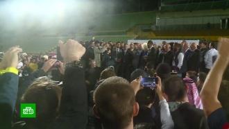 Более 15тысяч поклонников встретили Хабиба Нурмагомедова вДагестане