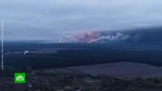 В ДНР связали горящие склады на Украине с катастрофой Boeing