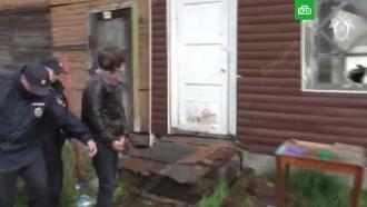 Каннибал показал следователям, как убивал жителя Ленобласти: видео