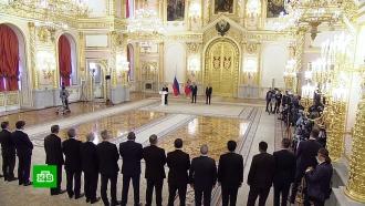 Путин принял верительные грамоты от иностранных послов