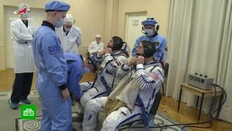Экипаж аварийного «Союза» готовился провести более 50экспериментов на МКС