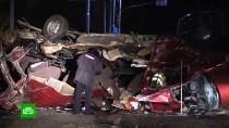 Автокатастрофа вЧувашии: от удара пассажиров разбросало по дороге