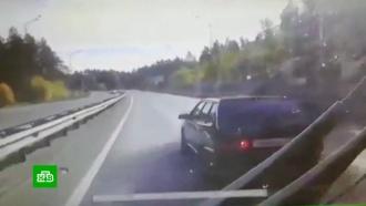 Водитель избил шофера автобуса на дороге вКазани