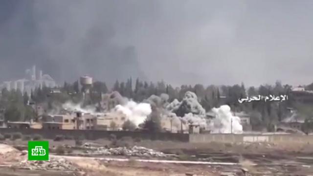 Мирные жители погибли при ударе коалиции США по Сирии белым фосфором.Сирия, войны и вооруженные конфликты, химическое оружие.НТВ.Ru: новости, видео, программы телеканала НТВ