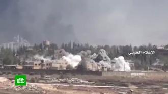 Мирные жители погибли при ударе коалиции США по Сирии белым фосфором