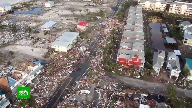 ВСША возросло число жертв урагана «Майкл».США, стихийные бедствия, штормы и ураганы.НТВ.Ru: новости, видео, программы телеканала НТВ